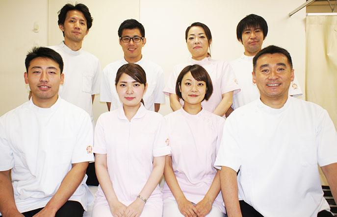 当院は「マッサージ・鍼灸・整骨・整体・カイロプラクティック」を各専門とする総合治療院です